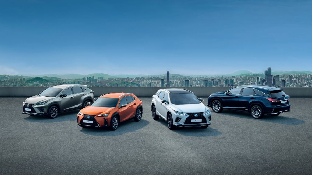 Car owners name Lexus most reliable brand