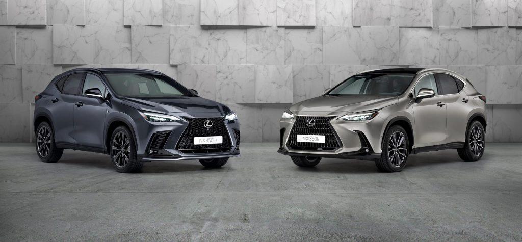 New Lexus NX HEV and NX PHEV due 2021