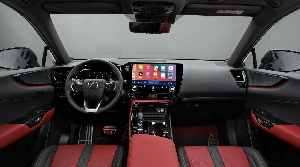 Lexus NX 450h+ interior
