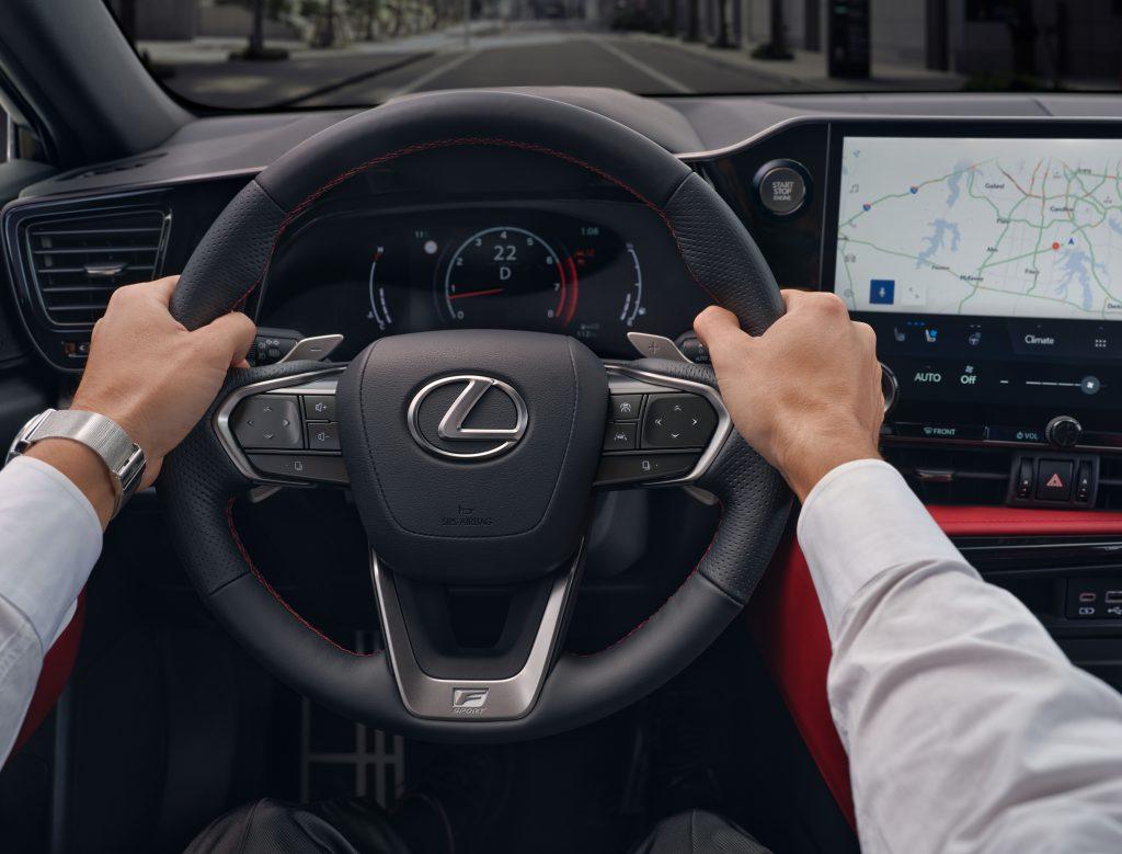 All-new Lexus NX hybrid SUV