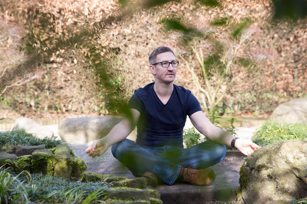 Christoph Spiessens, mindfulness teacher and a learning and development professional and coach