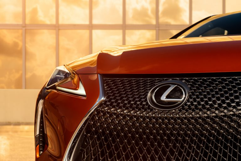 Lexus LC Coupe - one of the cars whose sounds feature on the Lexus Mindfulness soundtracks