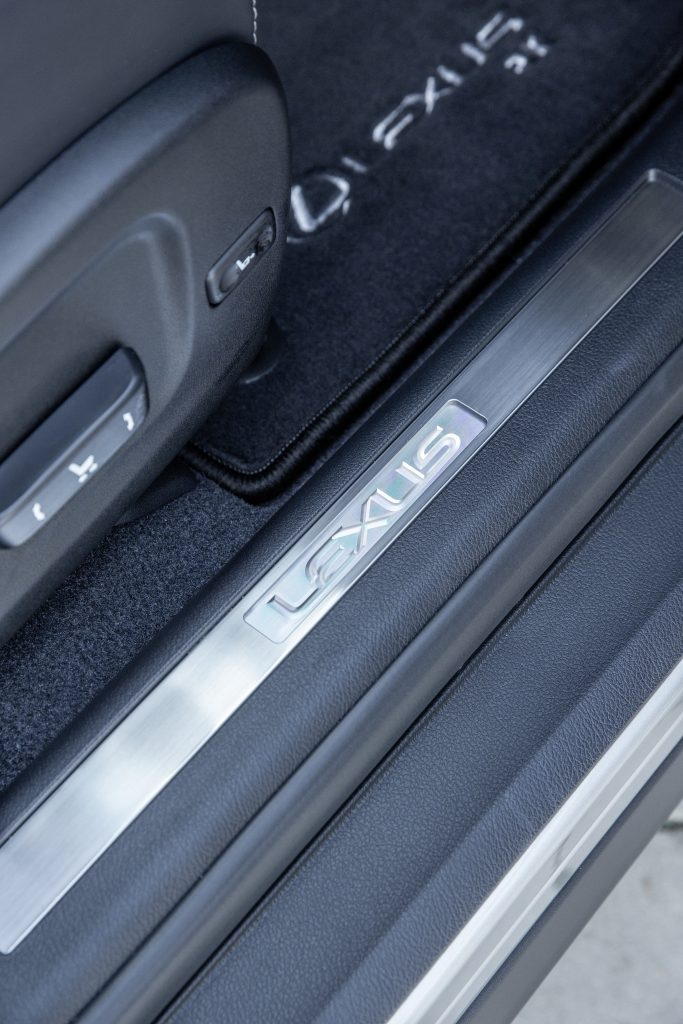 Lexus RX L Adjustable Seat - one of the sounds featured on the Lexus Mindfulness soundtracks