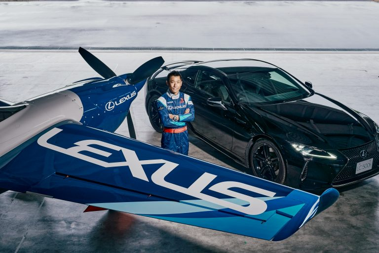 Lexus Launches Joint Air Racing Team with Competition Pilot Yoshihide Muroya