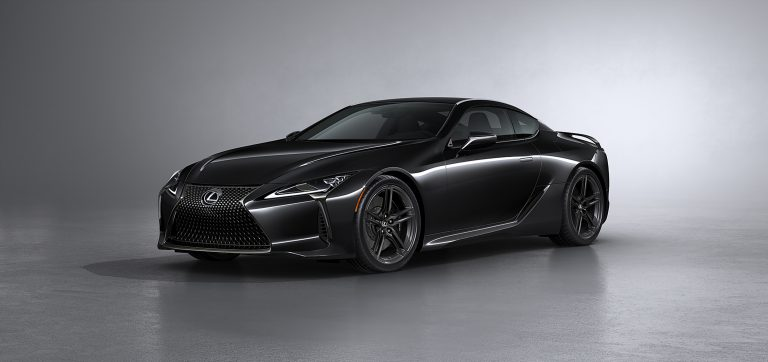Lexus Brings Black Inspiration to the LC Flagship Coupe